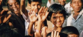 Ganeshpuri Kids Waving for Slider