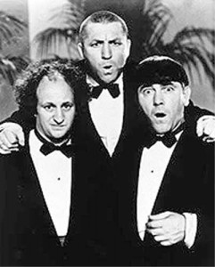 The Three Stooges: It takes 3 to create some drama!